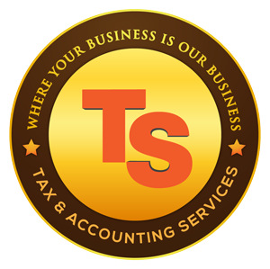 TS Tax & Accounting Services Logo